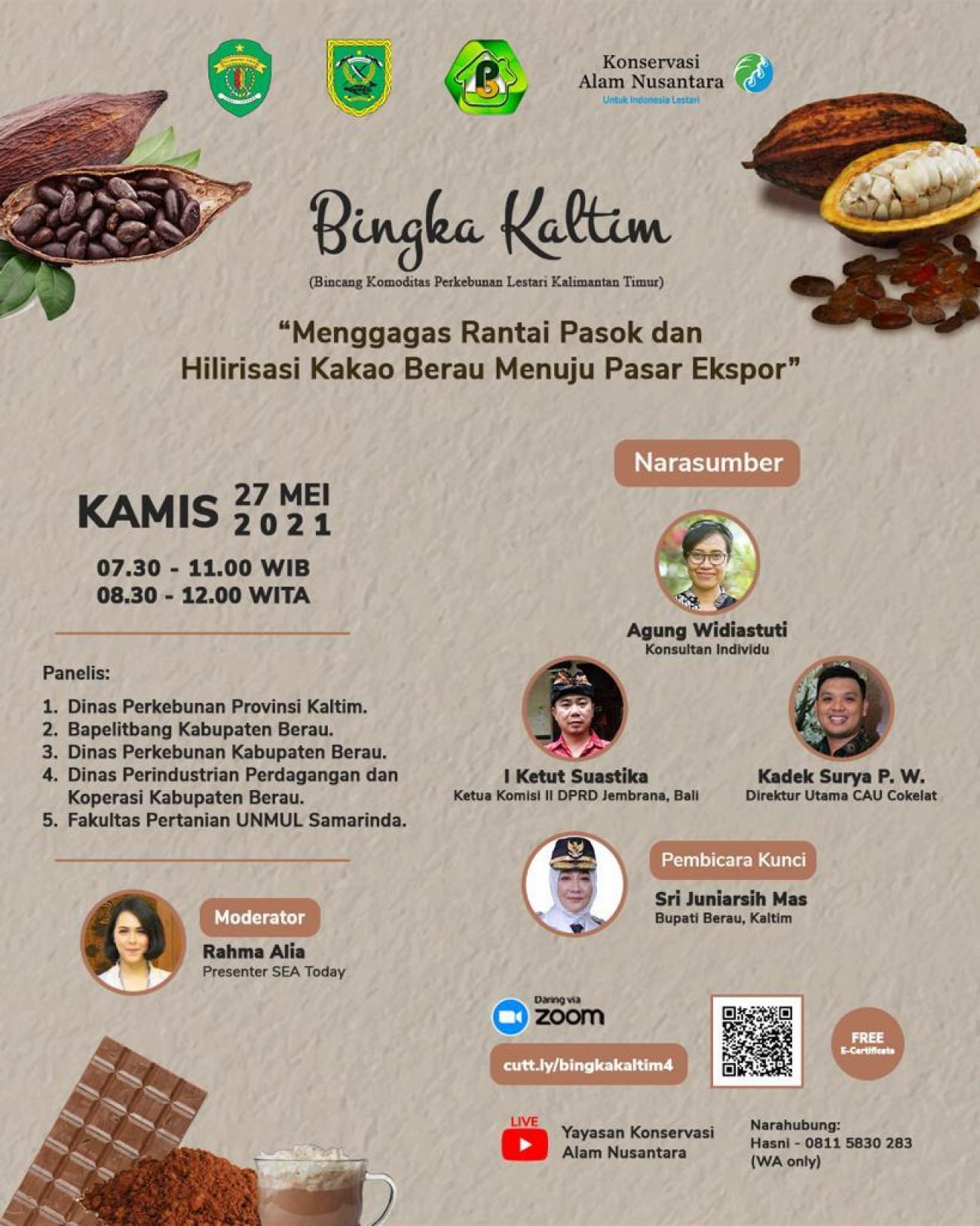 Bincang Komoditas Perkebunan Lestari Kalimantan Timur (Bingka Kaltim) #4