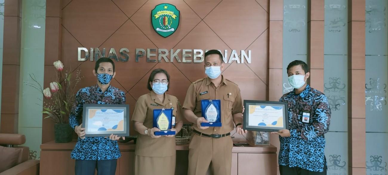 Dua Penghargaan Dari Kementerian Keuangan