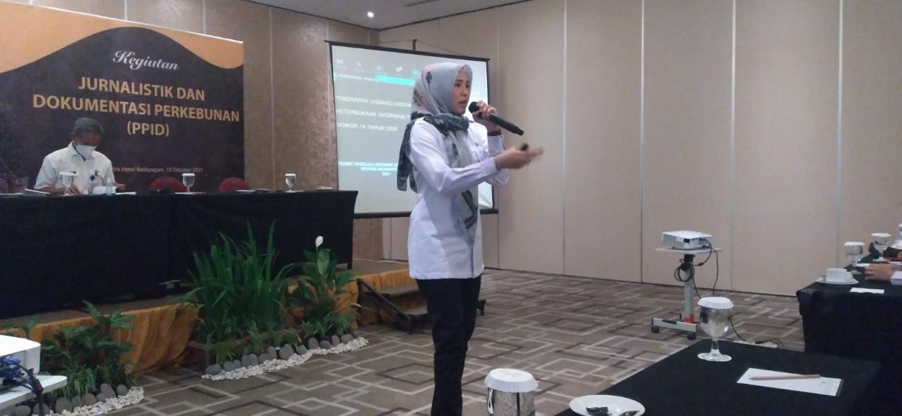 Tingkatkan Kualitas Jurnalis Perkebunan, Disbun Gelar Pelatihan Jurnalistik dan Dokumentasi