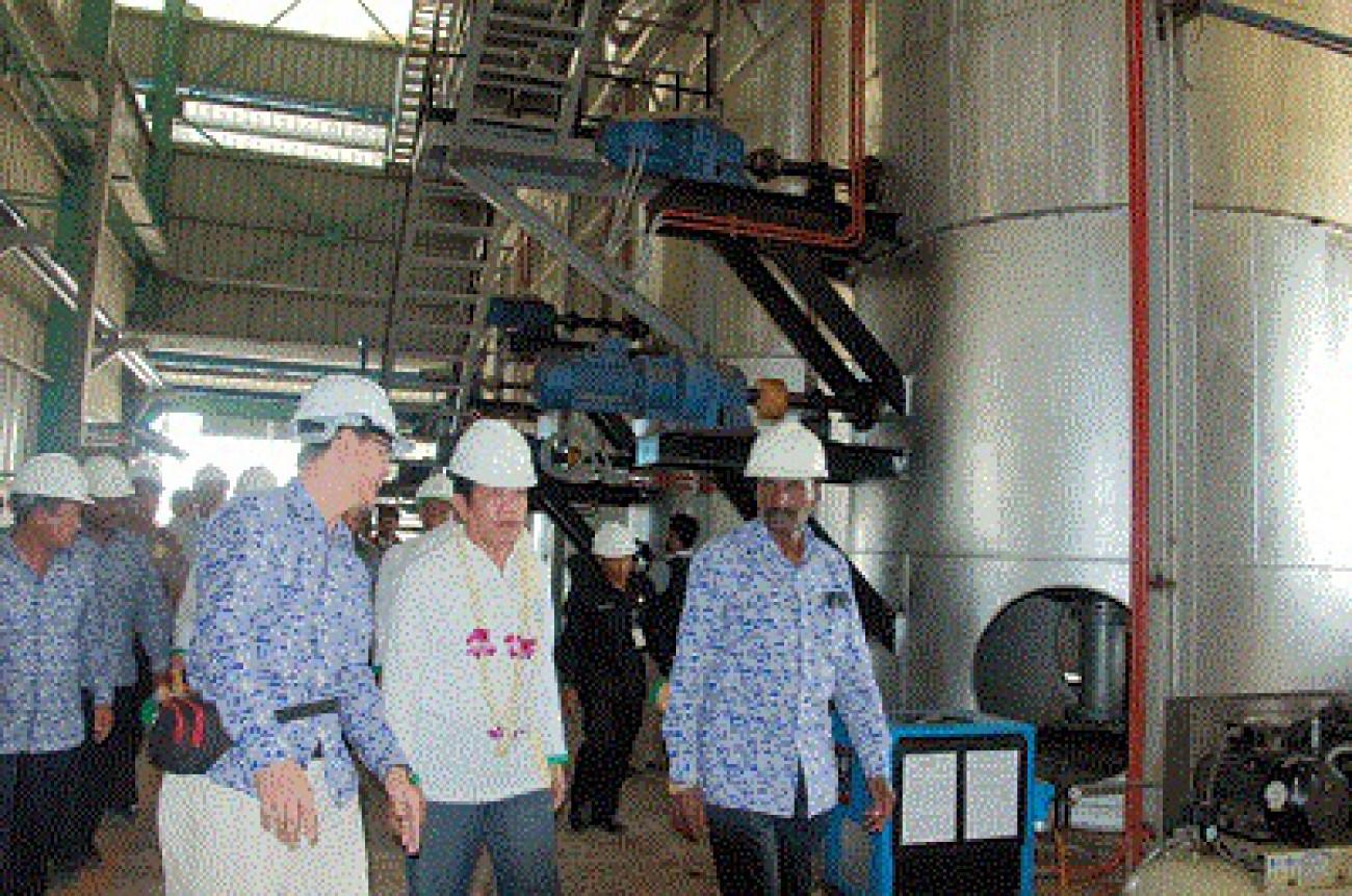 Resmikan Pabrik CPO, Masyarakat Dapat Jatah Listrik