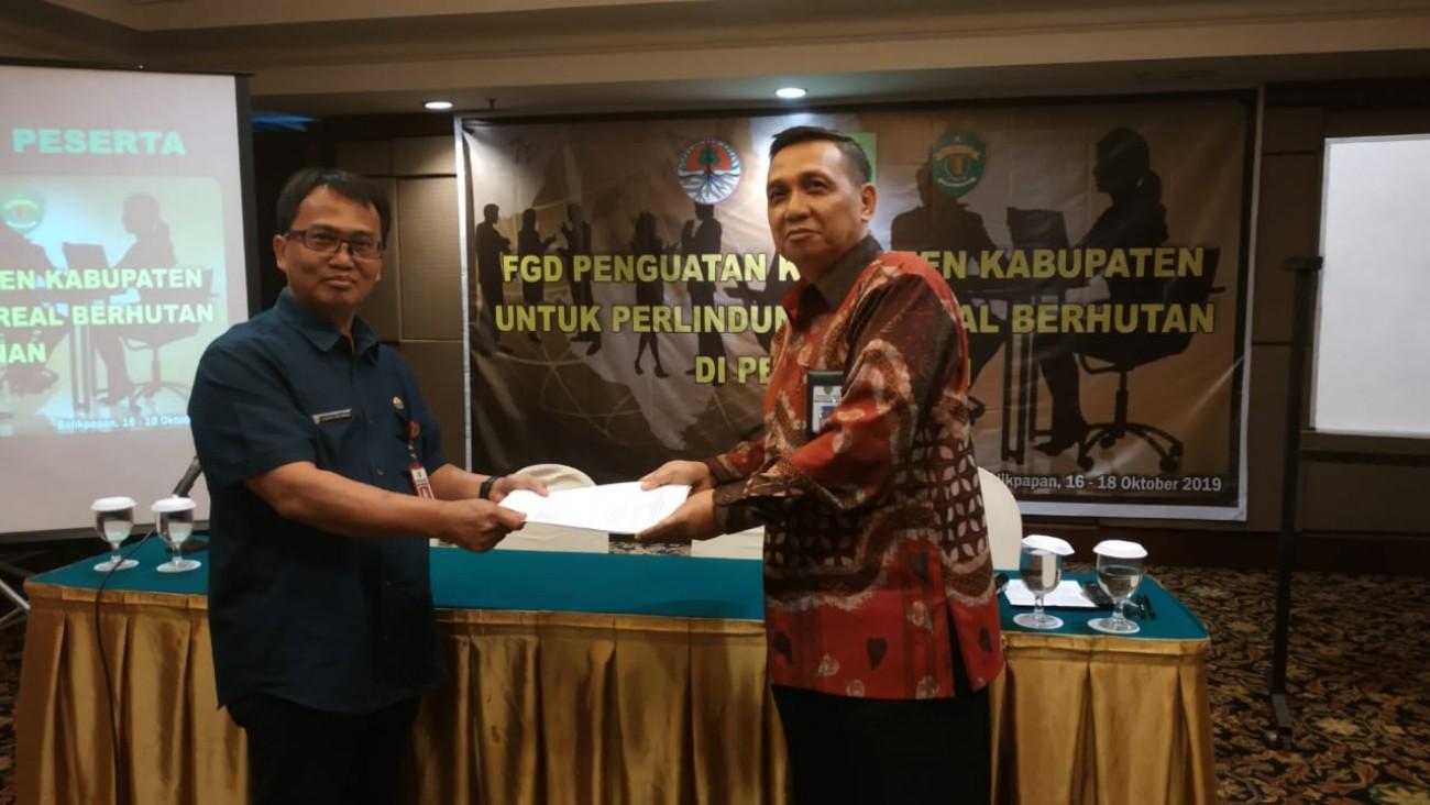 FGD Disbun Hari Ke-2 : Tetapkan Areal Indikati NKT di 7 Kabupaten .