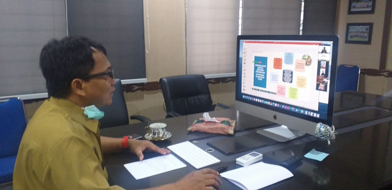Vidcon Sosialisasi E-Statistik dan Pedoman Pengelolaan Data Komoditas Perkebunan (PDKP)