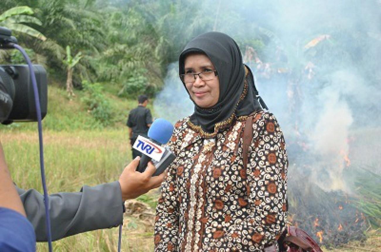 Etnawati : Waspadai Kebakaran Lahan dan Kebun