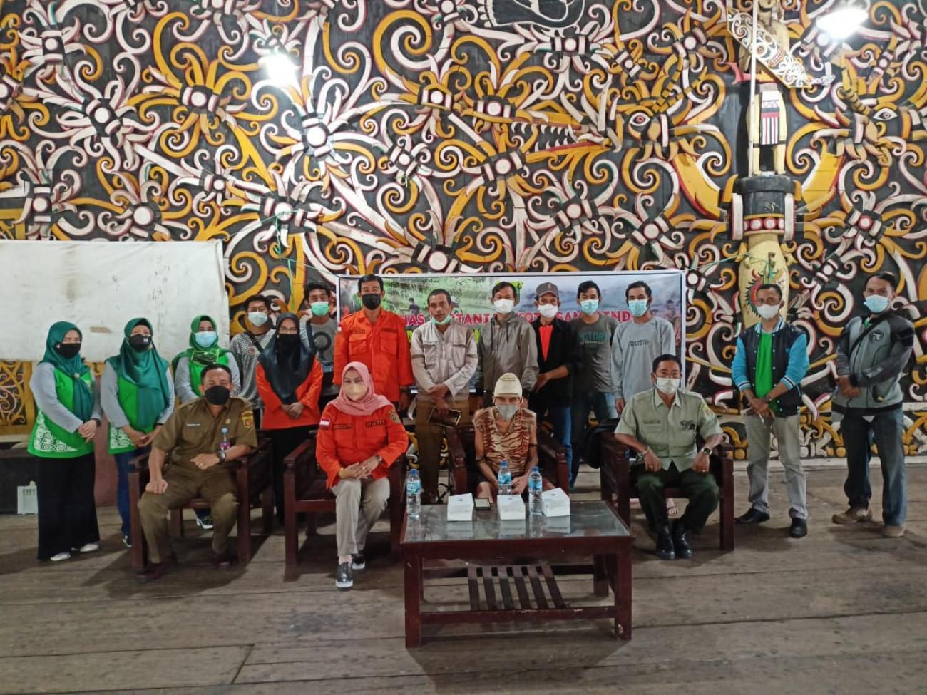 Disbun Fasilitasi Pembentukan KTPA Kota Samarinda