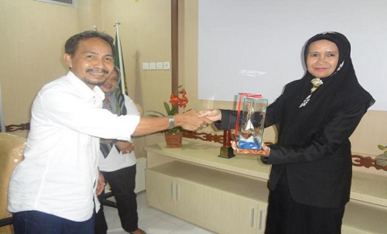 Kunjungan Dinas Perkebunan Sulawesi Selatan