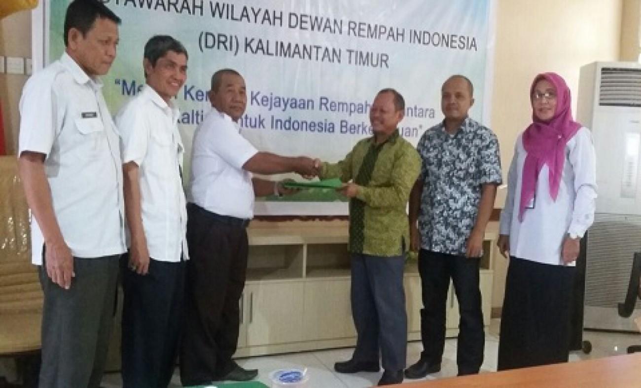 Kunarso Pimpin Dewan Rempah Kaltim Periode 2017 - 2021