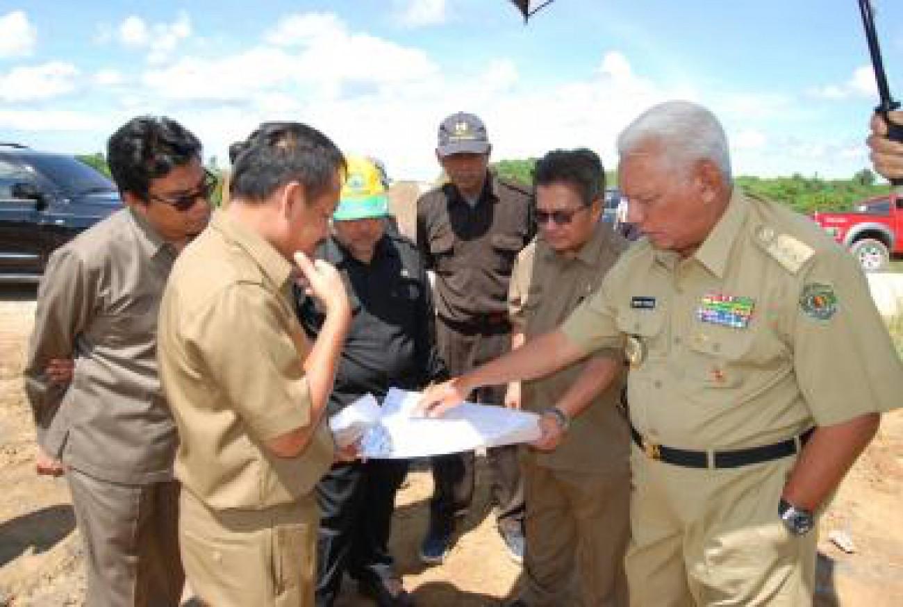 Gubernur Ground Breaking Pembangunan Terminal CPO di Maloy