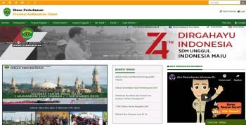 Situs Website Dinas Perkebunan Masuk Nominasi Lima Besar Nasional
