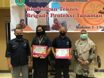Disbun Gelar Bimtek BPT di Kutai Barat