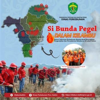 SI BUNDA PEGEL DALAM KELAMBU : Sistem Informasi Perkebunan Deteksi Awal Pencegahan, Pengendalian dan Pemadaman Kebakaran di Lahan Kebun
