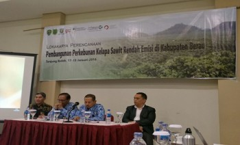 Lokakarya Pembangunan Perkebunan Sawit Rendah Emisi