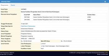 Sarana Fasilitasi Pengolahan Karet 2 Unit di Kab Kutai Kertanegara