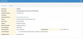 Peningkatan Badan Jalan Kantor UPTD PBP (ABT)