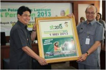 Kaltim Siap Sukseskan Sensus Pertanian 2013