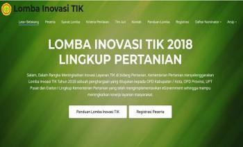 Lomba Inovasi TIK Kementerian Pertanian 2018
