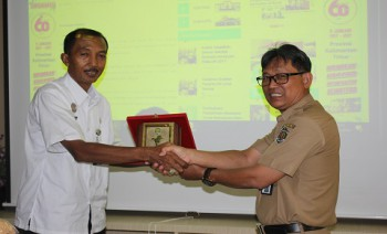 Optimalisasi Pengelolaan Website, BKP Riau Kunjungi Disbun Kaltim