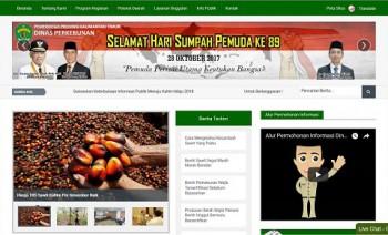 Website Dinas Perkebunan Raih Penghargaan Nasional Ke-7 Kali