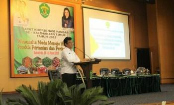 Rakor Pangan se-Kaltim 2018, Swasembada Butuh Kerja Bersama