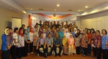 Pertemuan Penyusunan Data Statistik Angka Tetap 2012