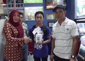 Para Pemenang Kuisioner Stand Disbun Kaltim Expo 2013