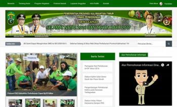 Disbun Jadi SKPD Percontohan Pengelolaan KIP Berbasis Website