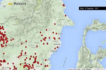 Jumlah Titik Api Meningkat, Waspadai Kebakaran Lahan dan Kebun