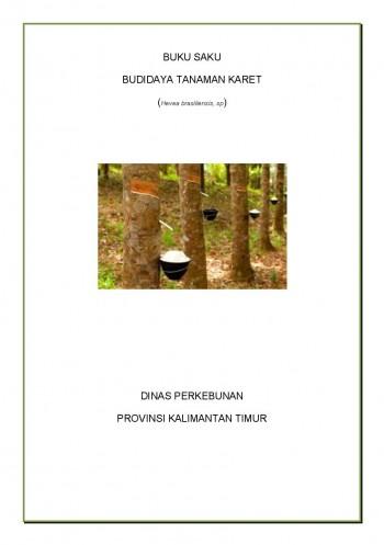Buku Saku Budidaya Tanaman Karet