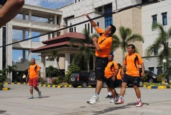 Volley Ball - HUT Kaltim ke 55 Tahun 2012